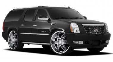 Коврики EVA Cadillac Escalade III 2007 - 2014 (Platinum)